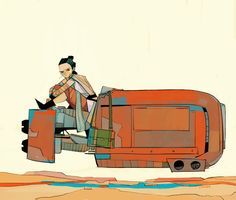 Rey-a-Day 60 by michaelfirman