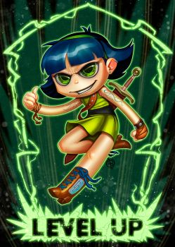 BUTTERCUP fan art by Lord-Dragon-Phoenix