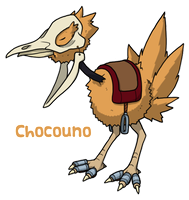 Pokemon BW3 2.0: Chocouno