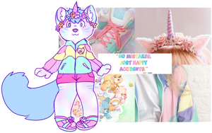 aesthetic adopt reveal: 90s unicorn by irlnya