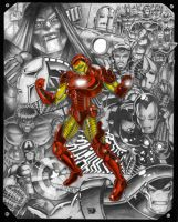 Iron_Man_ some color by BigRob1031