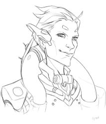 Moira sketch by juuhanna