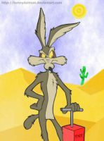 Wile E. Coyote by kennydalman