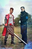 Dante and Vergil DmC Cosplay HD 2015 - Leon Chiro by LeonChiroCosplayArt