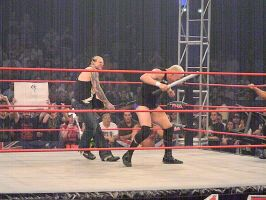 Hardy: Chairshot to Anderson by KnightNephrite