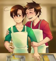 Cooking Spamano! by sammich