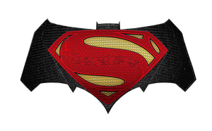 Batman v Superman: Chest logos by Alexbadass
