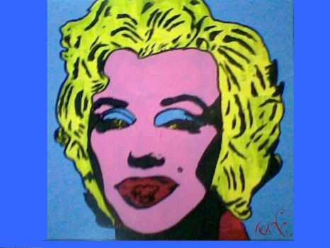 Warhol style by Proserpinae