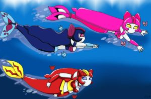 H2O Medabots06 by LadyBee-Moy