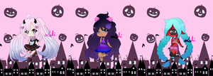 YCH Halloween Chibi #1 [COMPLETE] by Loli-senpaii