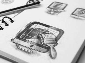 Mac App Icon Sketches by Ramotion