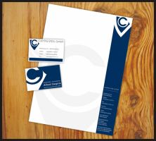 BC and Letterhead - CV by readme-txt