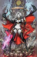 Lady Death Cover by arf
