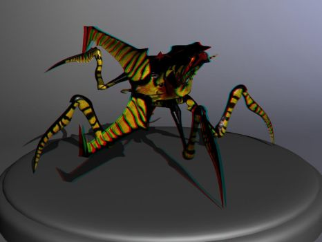 Bug_anaglyph by Commander-Zero