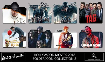 Hollywood Movies 2018 Folder Icon Collection 2 by G0D-0F-THUND3R