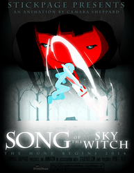 Song of the Sky Witch - Poster by Camshep