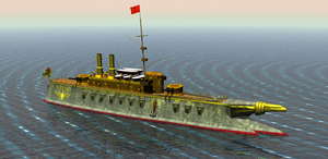 Roman Armored Cruiser by 1Wyrmshadow1