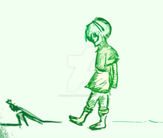 Toph- The Blind Bandit by Silver-Shadoww