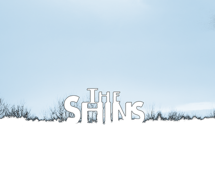 The Shins Wallpaper - Blue by apocryphal-lodger