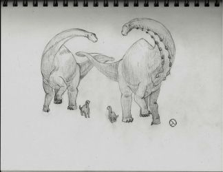 30 Day Dino Challenge: 11: Dinosaur Family by SaurArch