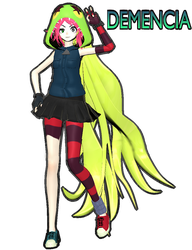 [MMD-Villainous] Demencia...! by Amy-artist-killer