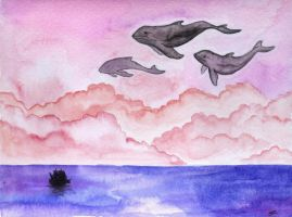 Whales by pleasant28