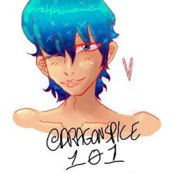 New OC by Dragonspice101