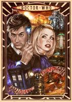 Doctor Who ~season 2~ poster by AdrianaMelo