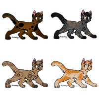Duskclan Adoptables || TLOTC by Allthingspossible