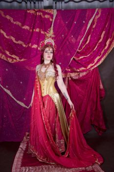 STOCK - Oriental Fantasy in Pink by Apsara-Stock