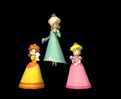 Mario Kart Wii Princess Three by earthbouds
