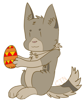 happy easter by CloudyTheNerd