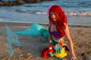 The Little Mermaid Ariel presents her AquaTails by Kaida-Kitsune