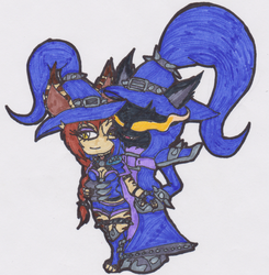 (Reupload) Veigar X Freya New Queen by Tiera-The-Yordle