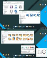 Pure Flat 2015 W10 IconPack by alexgal23