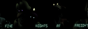 [SFM] Five Night's At Freddy's Banner Poster by MaxieOfficial