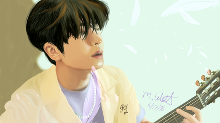 Youngjae Lullaby by Momokitty98
