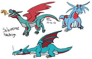 Salamence Pokedesigns