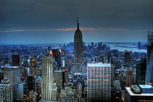 Empire State building by JWalkerimages