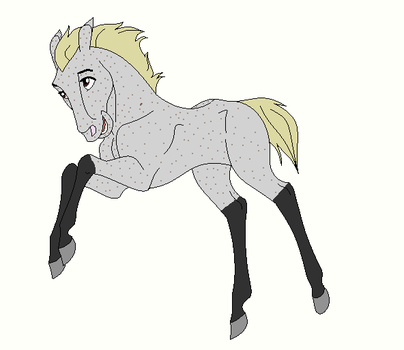 Horse Ship it Result #8 - Frosty x Shade Sparks by mkayswritings