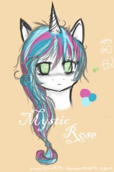Mystic Rose Icon Sketch by Tigeress915