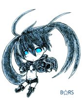 BLACK ROCK SHOOTER:. by Jouzee