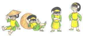 Toph Beifong by Dead-Raccoons
