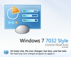 Windows 7 7032 style CP Icon by nyolc8