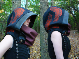 Looking Glass Hood and Cowl by Fennec777