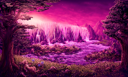 Peaceful Wilderness (3DS Art) by CritCorsac