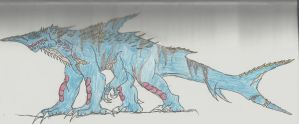 Argentilodon by TheAngryKaijuGuy