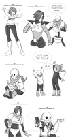 Undertale requests 1 by Tragedy-Mask