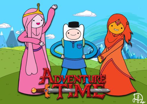 Adventure-Time-Muslim-Version by Laily95