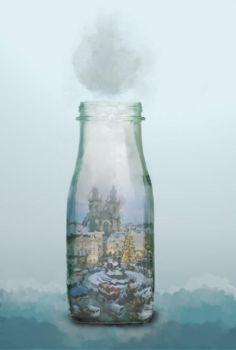 Town in the Bottle by WanySRB